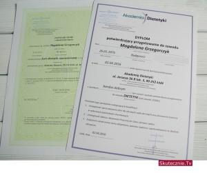 dietetyka -dyplom
